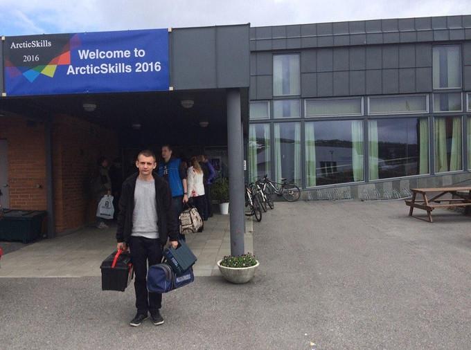 Студент КИК Алексей Киселев - участник WorldSkills Russia