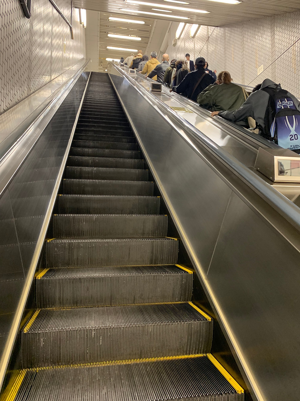 Escalator in Tokyo