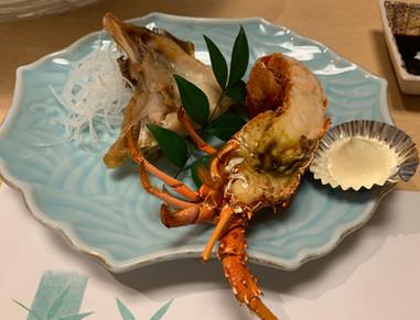 Japanese spinny lobster