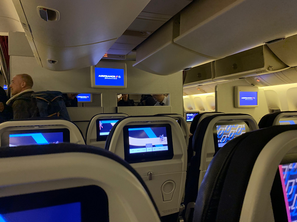Economy class of Air France