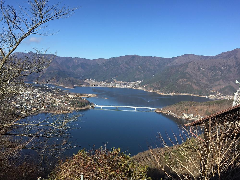 Kawaguchi-ko and Kawaguchi-ko great bridge