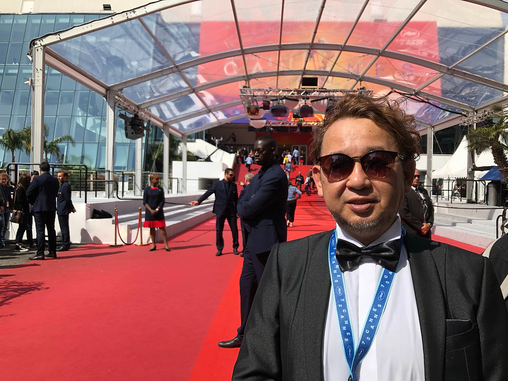 Ken Tanigawa, director of 48 hour film project Osaka in Cannes