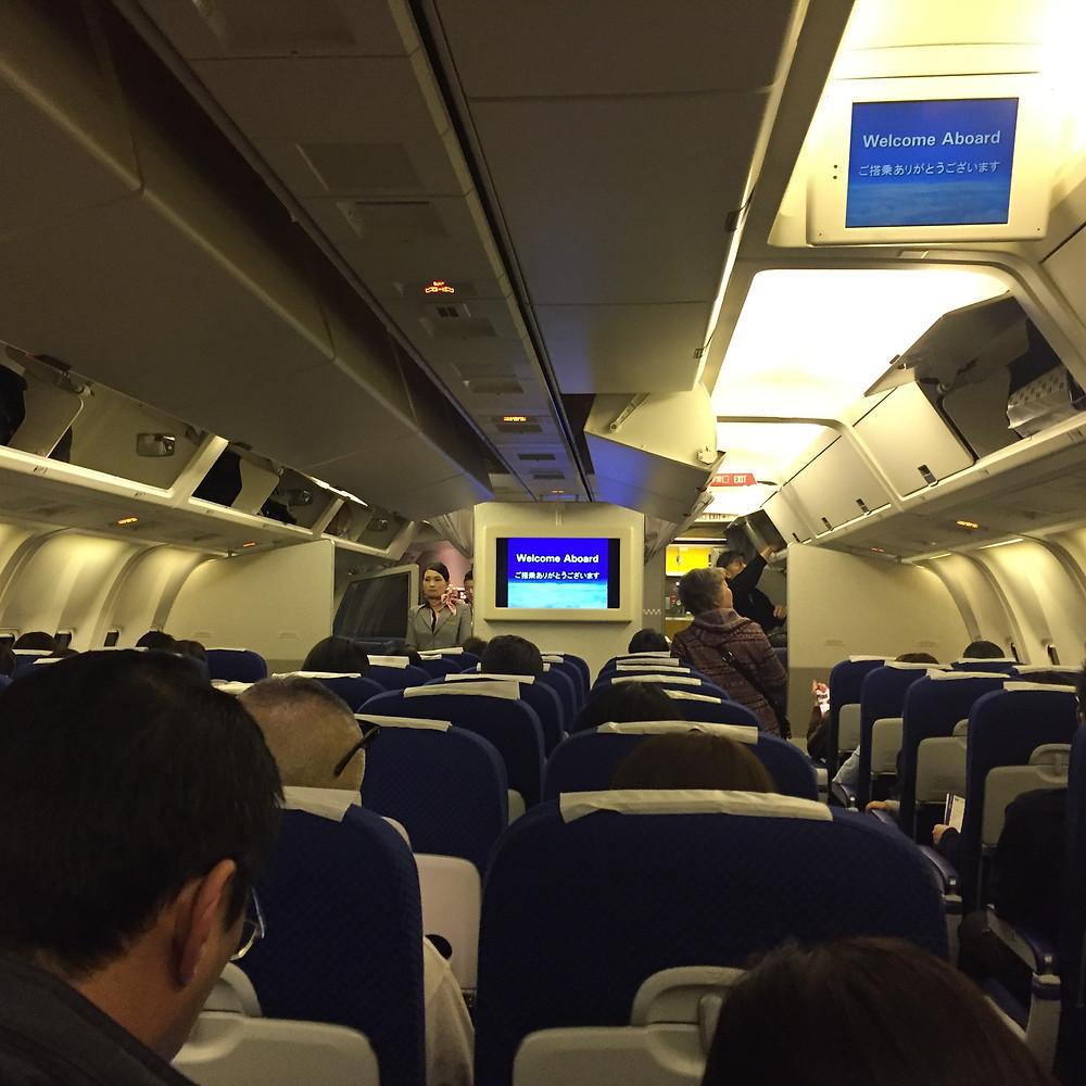 ANA flight to Takamatsu