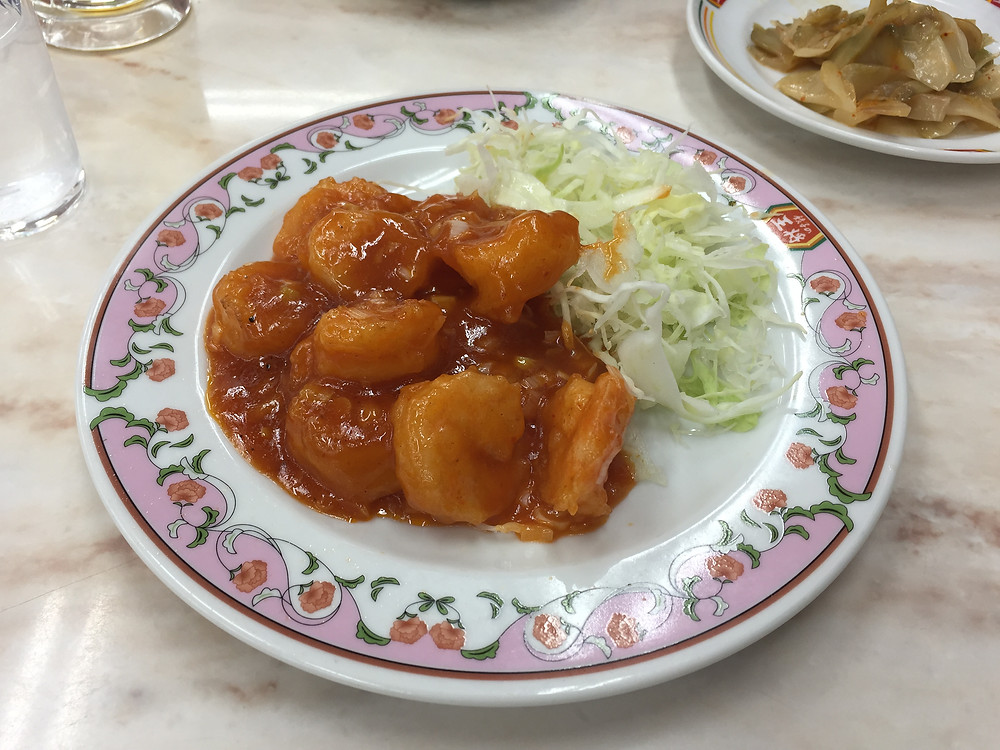 Ebi chili at Gyoza no Osho