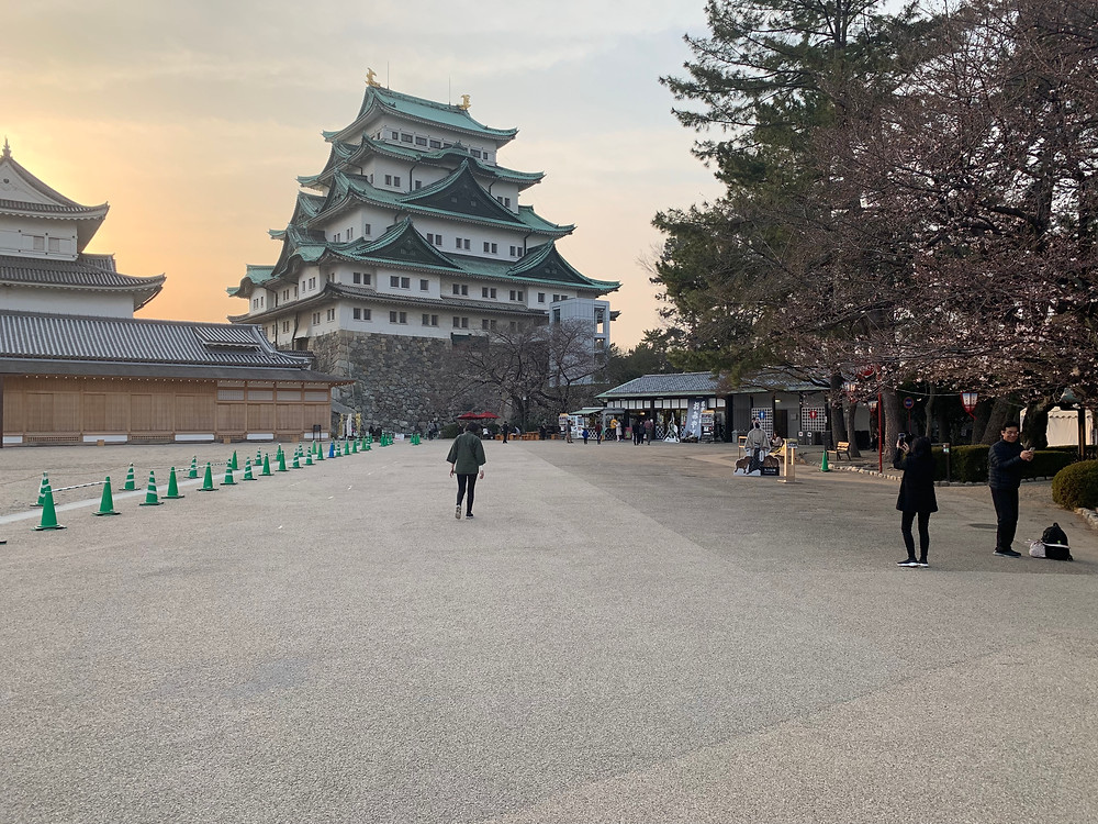 Tenshu of Nagoya castle