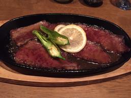 Lemon steak
