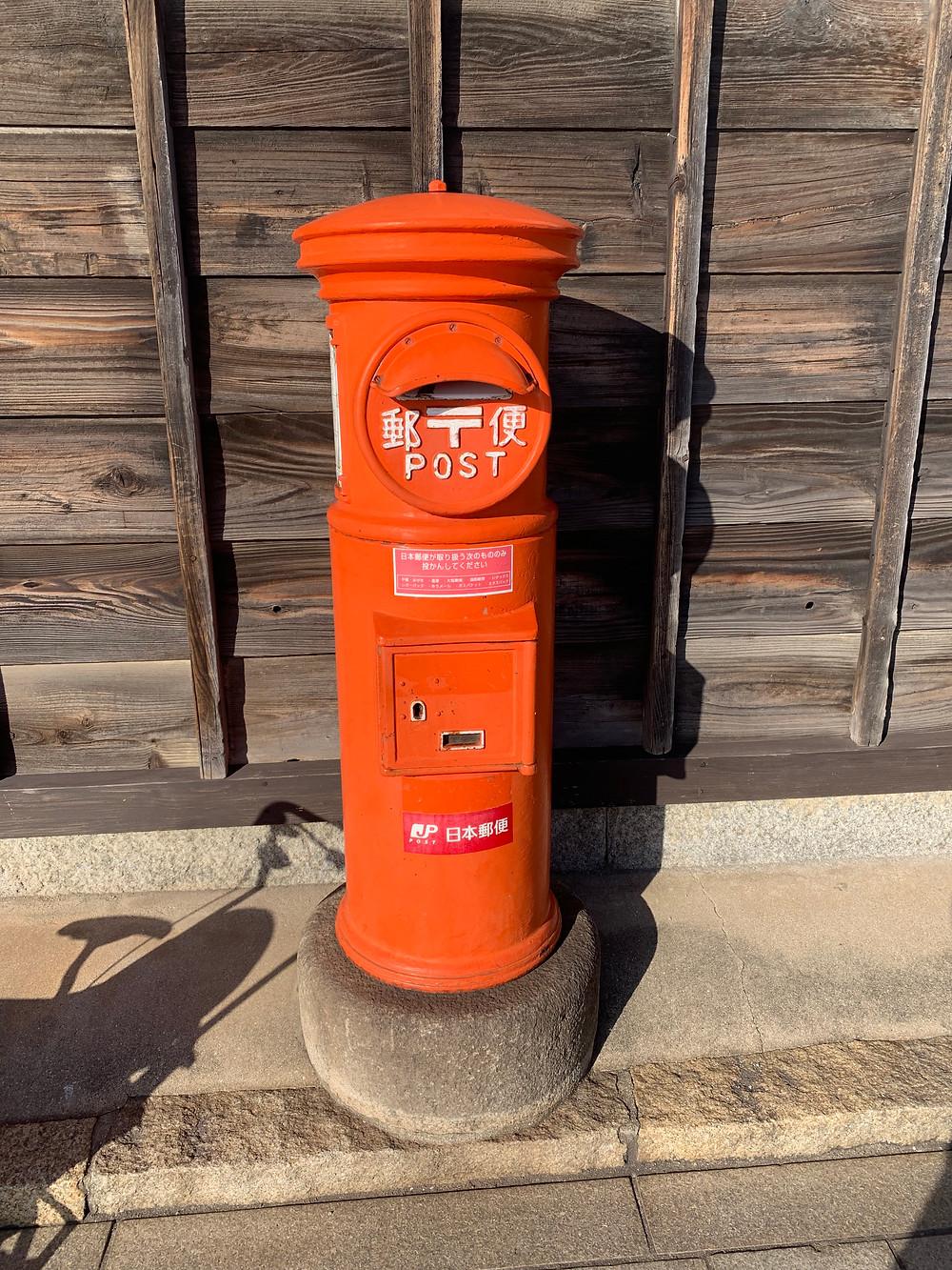 Classical post box