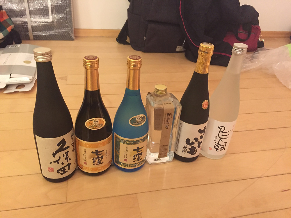 sake and shochu