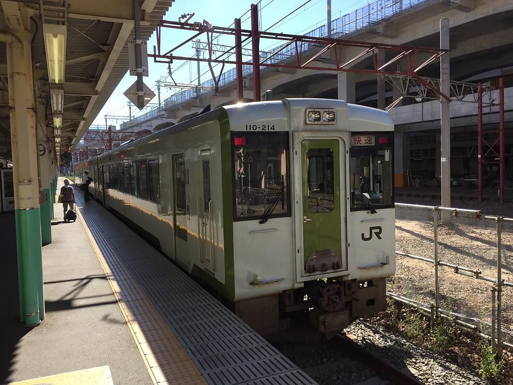 JR Ban-etsu-sai line