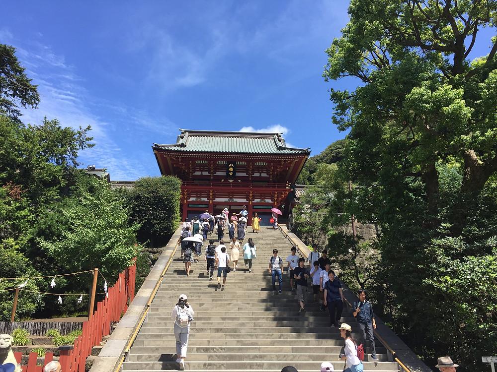 Tsurugaoka hachimangu shrine