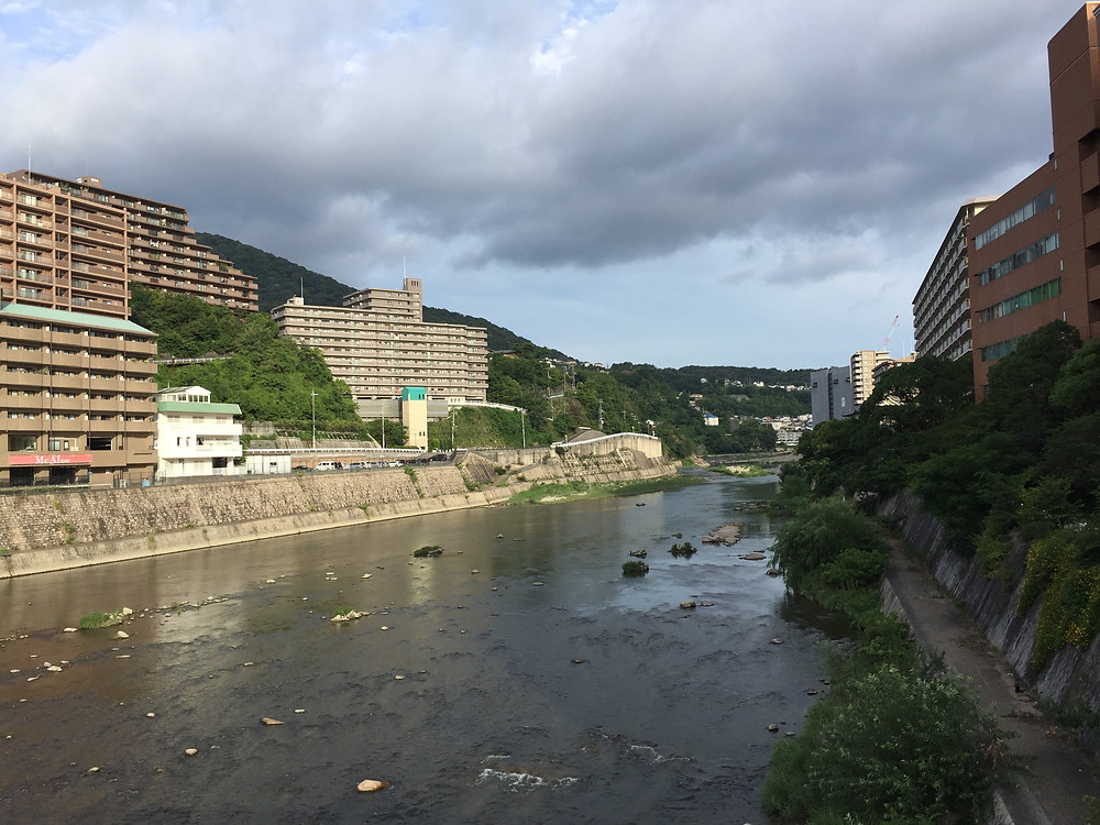 Mukogawa river in Takarazuka