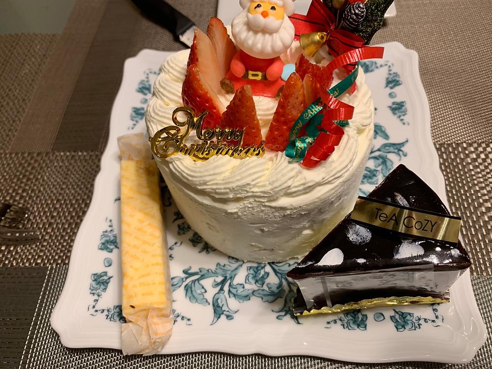 Christmas cake of Tea Cozy, Hachioji
