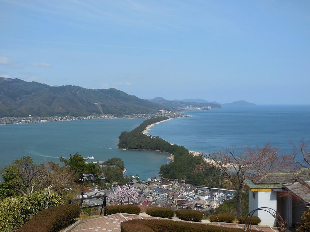 View from Amanohashidate viewland
