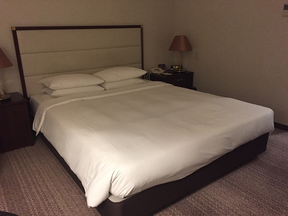 Double bed room at Mercure Nagoya Cypress