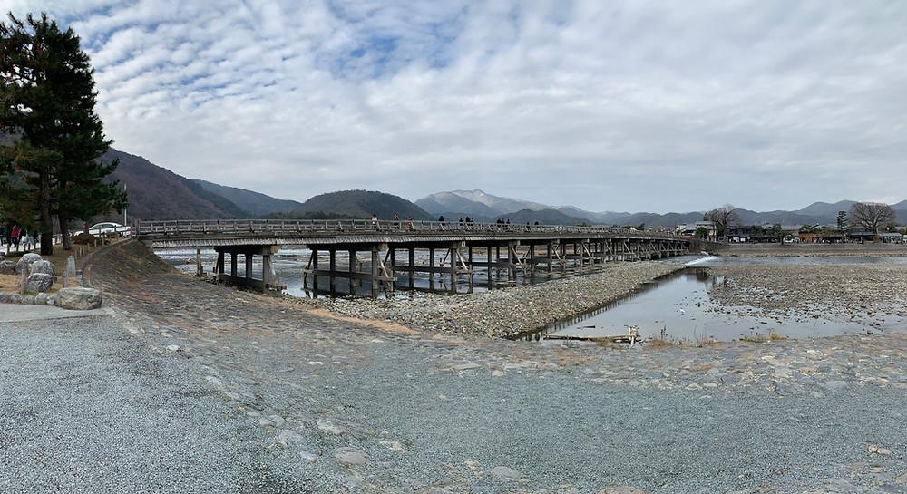 Togetsu bridge in Kyoto