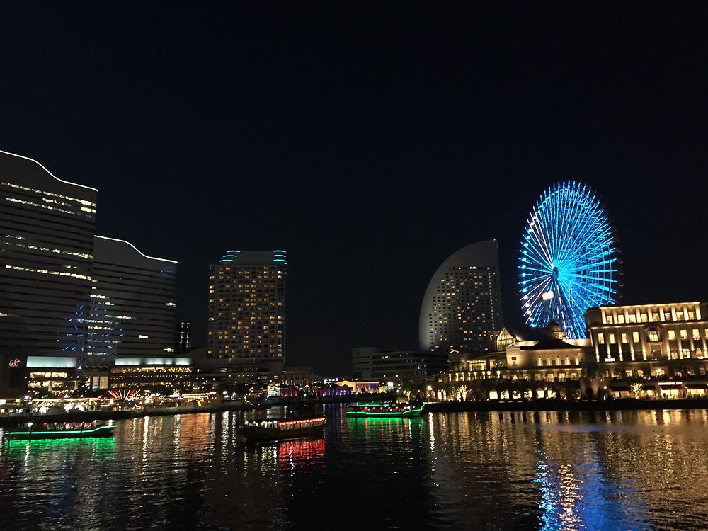 MInato-mirai district of Yokohama