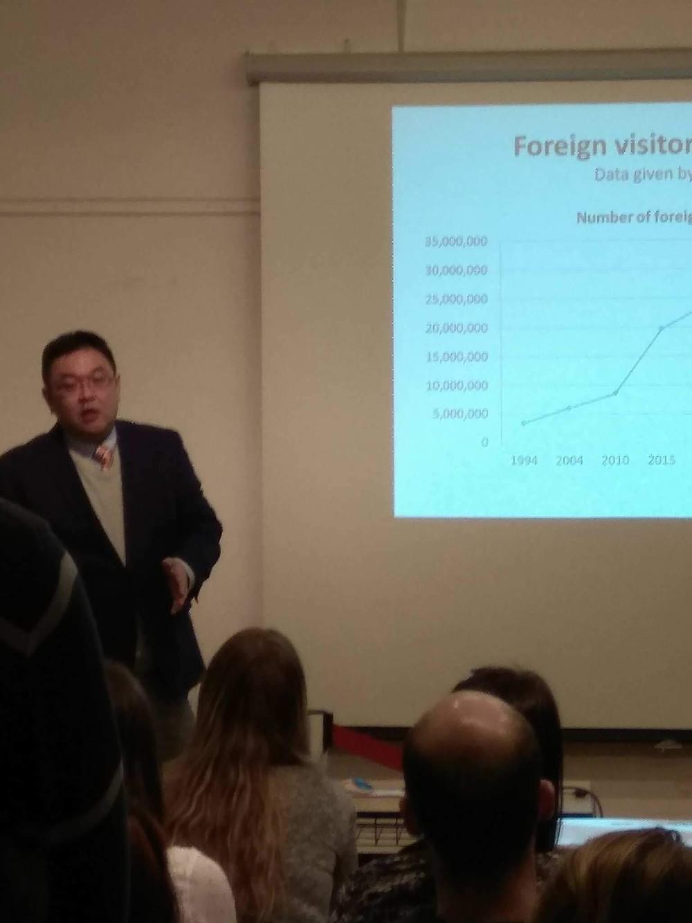 Presentation at JICC in Prague