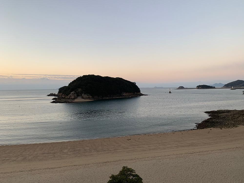 Beach at Sensuijima, Hiroshima