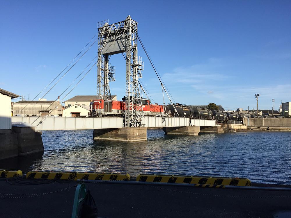 Suehiro moveable bridge