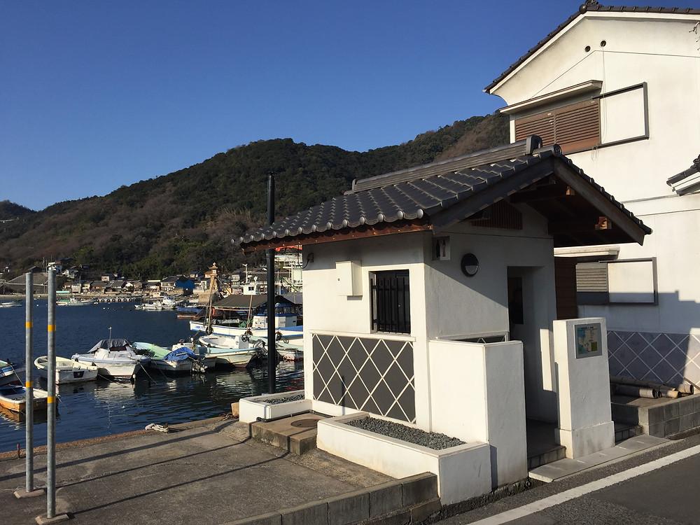 Lavatory in Tomonoura
