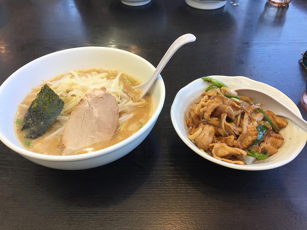 Ramen & Yakiniku-don