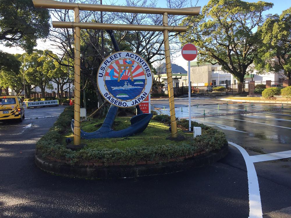 US Naval base , Sasebo