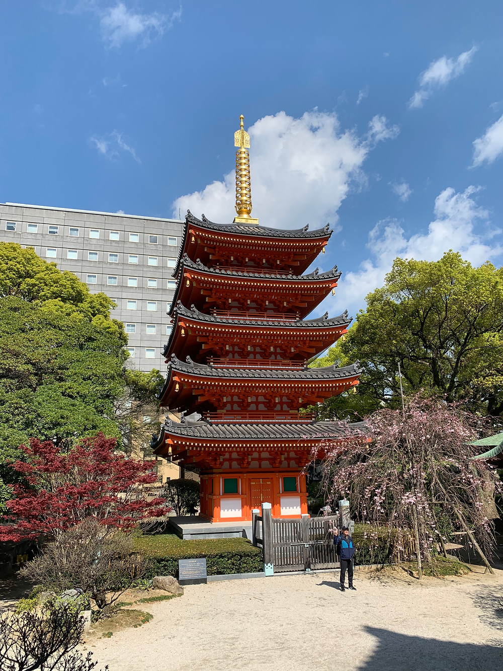 Pagoda at Tochoji temple