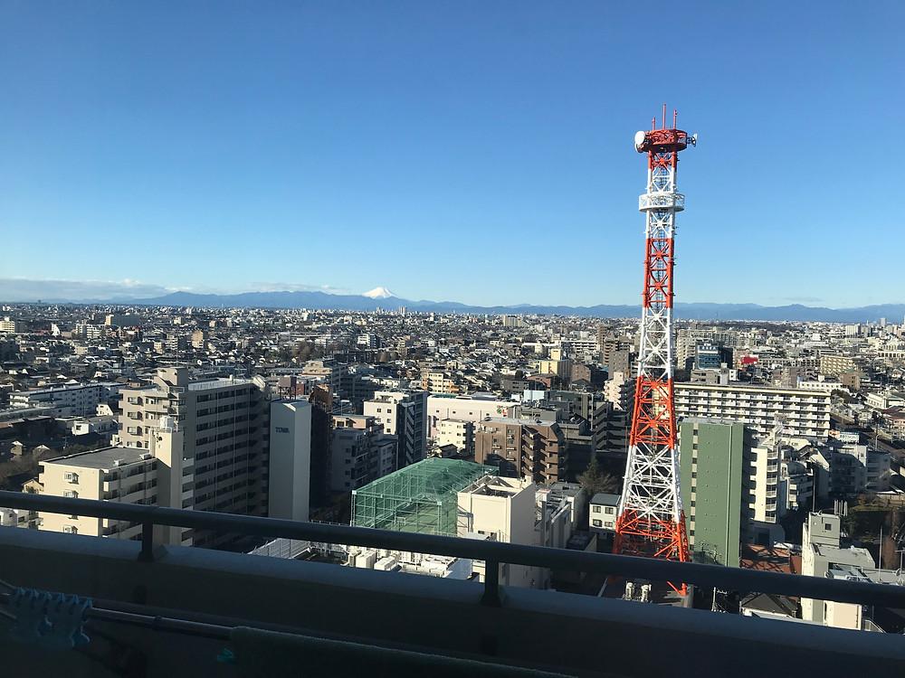 Tokyo metropolis and Mt.Fuji