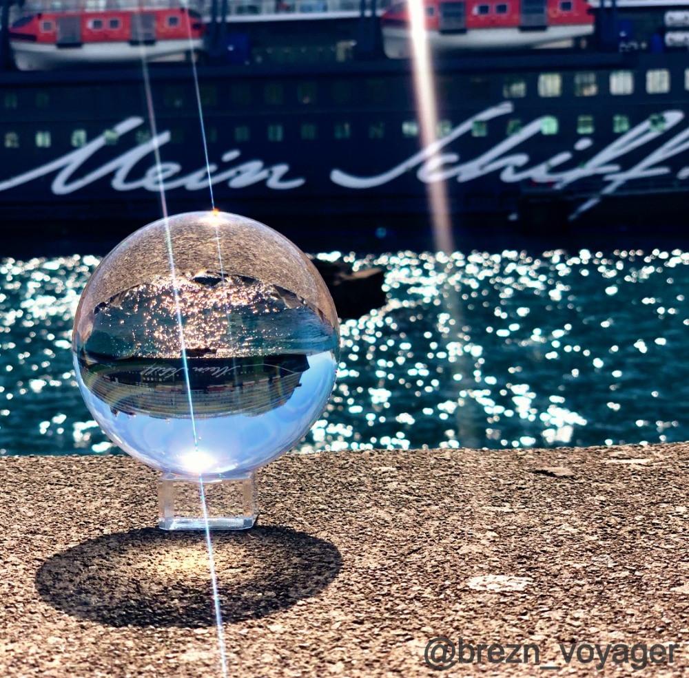 Die Mein Schiff 2 im Lensball