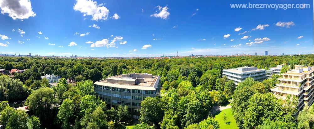 Vom Balkon eines park view rooms