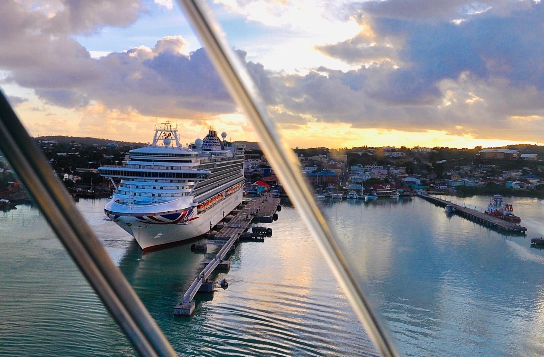 Die AZURA von P&O Cruises