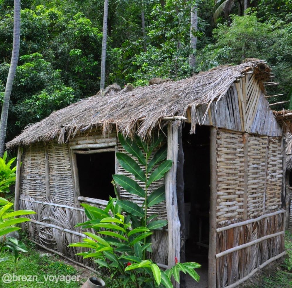 Historische Arbeiter Hütte