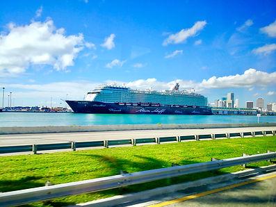 Mein Schiff 6 in Miami USA