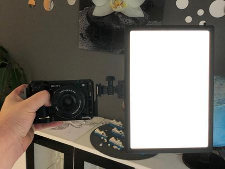 LED Videoleuchte RALENO - erster Eindruck