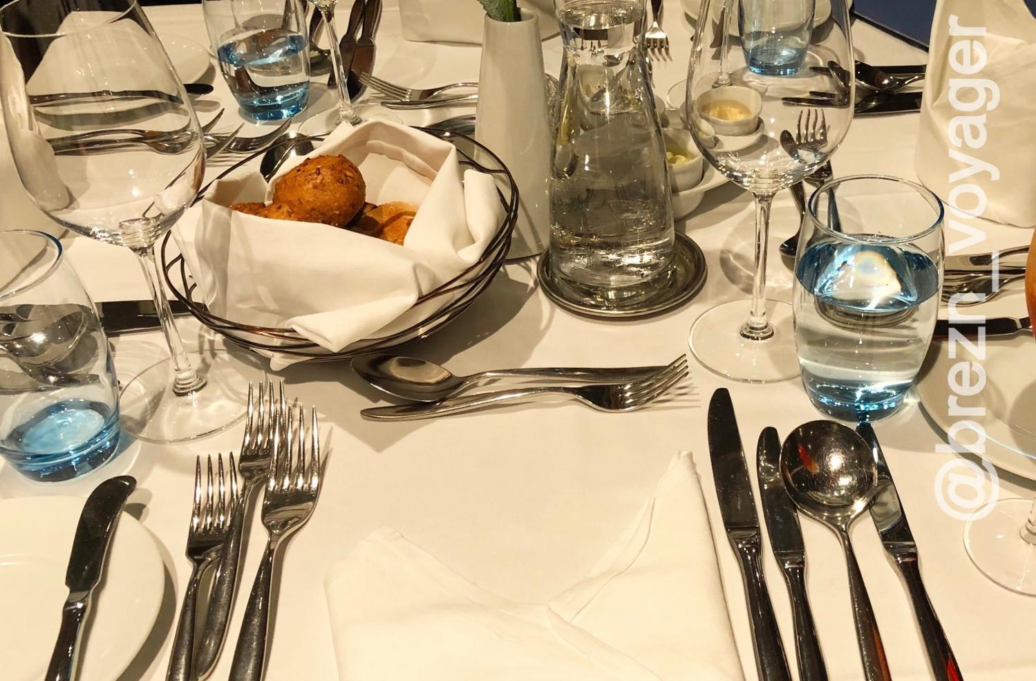 Abendessen im Atlantik