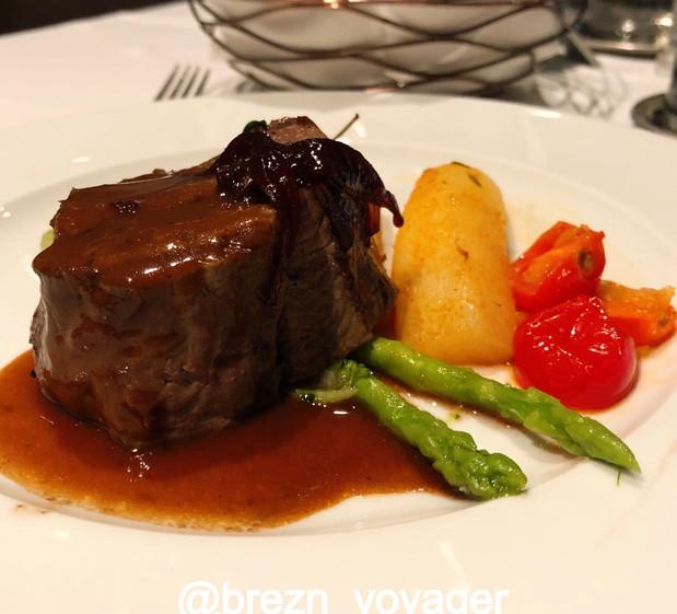 Steak auf der Mein Schiff