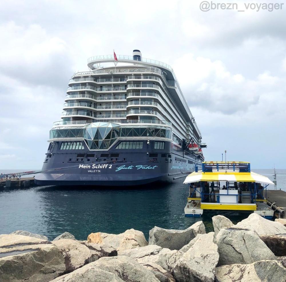 Mein Schiff 2 in Grenada
