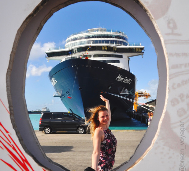 Mein Schiff 2 in Barbados