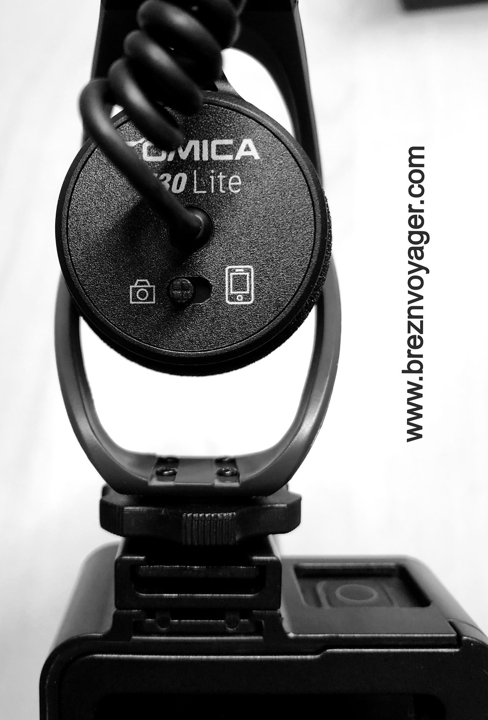 Mit diesem Schieberegler kann man zwischen Kamera und Smartphone wählen