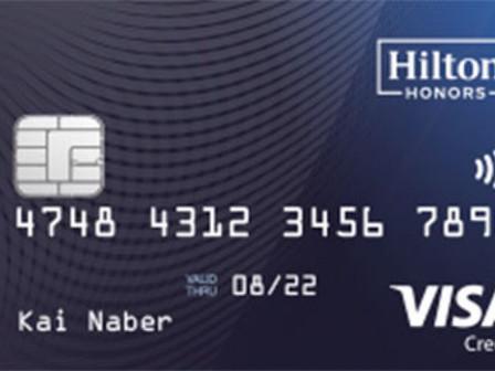 Die Hilton Honors Kreditkarte