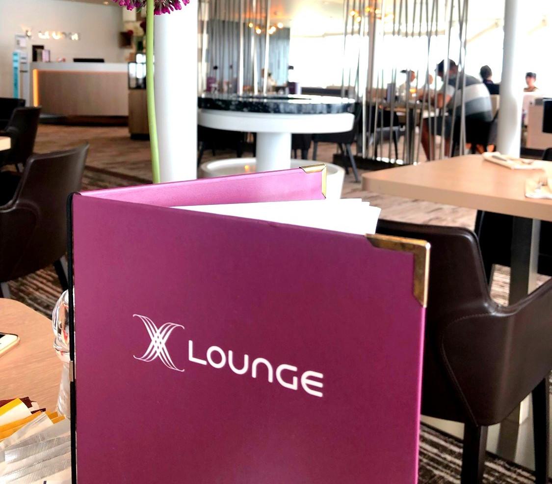 Speisekarte der X-Lounge