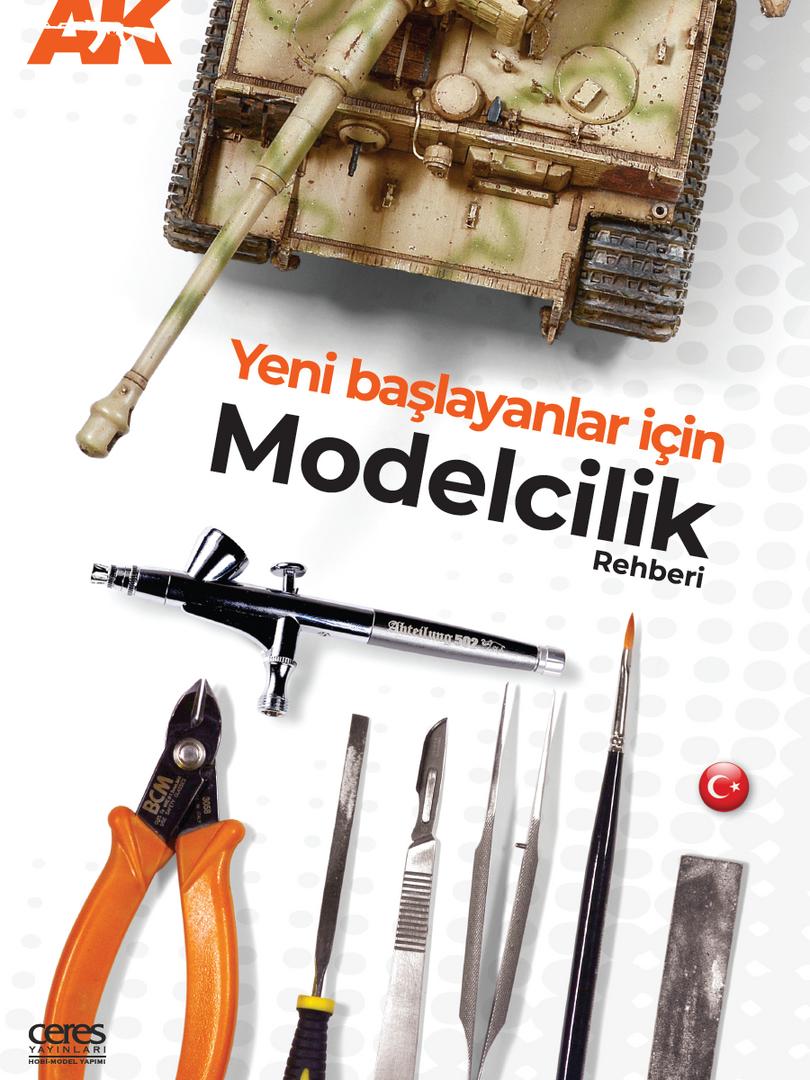 Yeni başlayanlar için modelcilik rehberi kapak