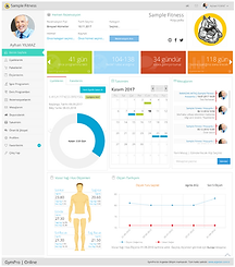 GymPro 7 Uye Web Sayfası