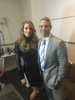 Cary Deuber & Andy Cohen