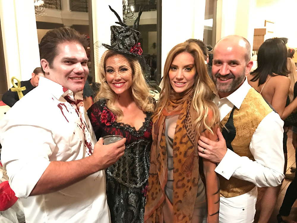 Travis Hollman, Stephanie Hollman, Cary Deuber, Mark Deuber
