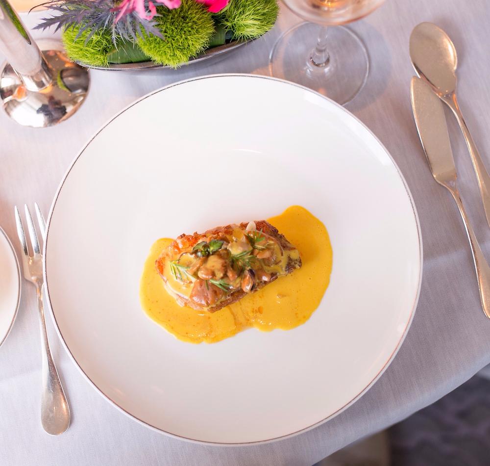 Dinner at the Pavillon Restaurant at the Baur au Lac