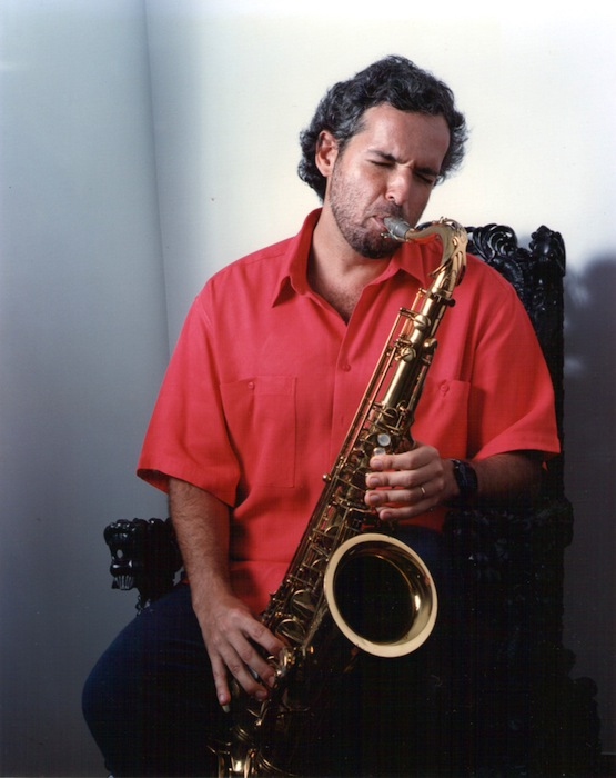 Sergio on Tenor Sax