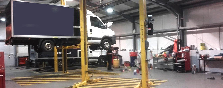 Euroroute recovery garage services