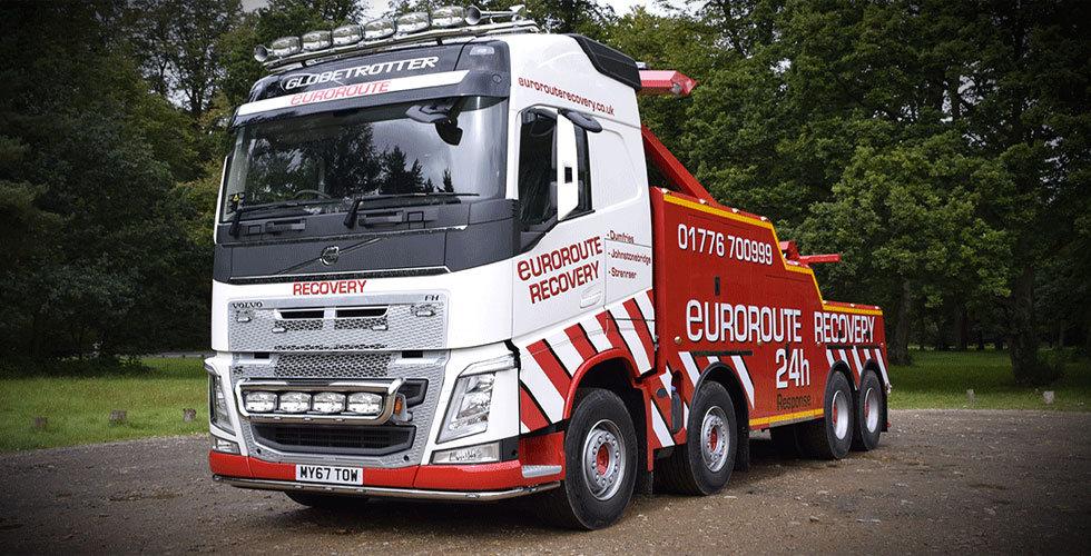 Euroroute recovery breakdown response South West Scotland