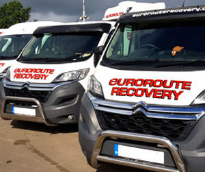 Euroroute recovery fleet